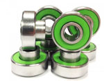 Zealous Bearings for Longboards and Skateboards